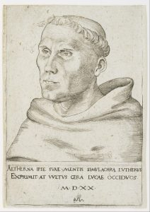 Martin Luther, ca. 1520 (Lucas Cranach the Elder)