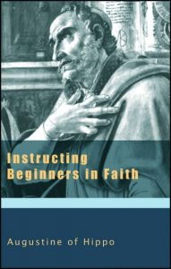 Augustine - Instructing Beginners in Faith Cover